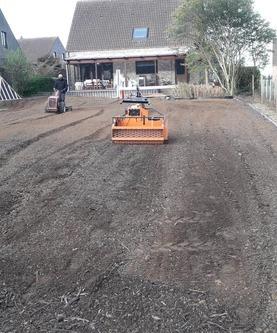 Tuinaanleg en onderhoud Wim Van Mullem - Grasaanleg