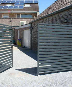 Tuinaanleg en onderhoud Wim Van Mullem  - Afsluitingen